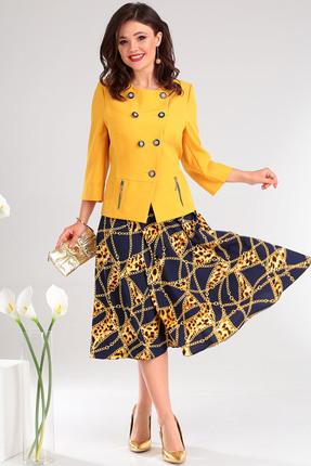 Комплект юбочный Мода-Юрс 2485 желтые тона