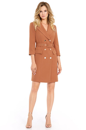 Фото - Платье PIRS 694 коричневые тона цвет коричневые тона