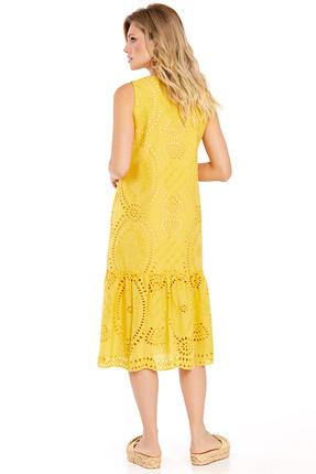 Фото 2 - Платье PIRS 720 желтый желтого цвета