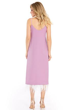 Фото 2 - Платье PIRS 731 розовые тона цвет розовые тона
