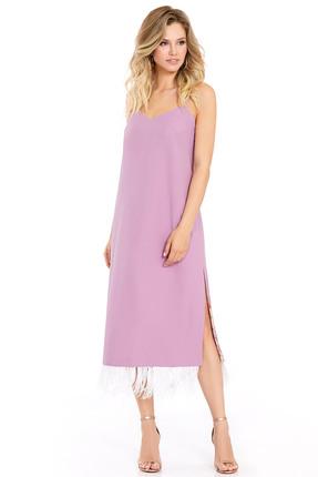 Фото - Платье PIRS 731 розовые тона цвет розовые тона