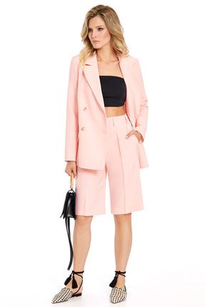 Комплект с шортами PIRS 734 светло-розовые тона