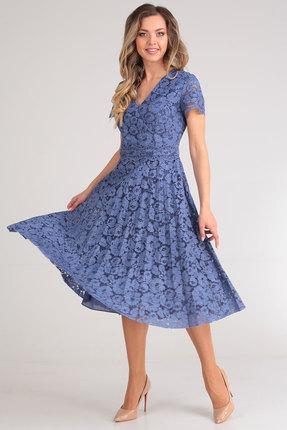 Фото - Платье SandyNa 13590 синий синего цвета