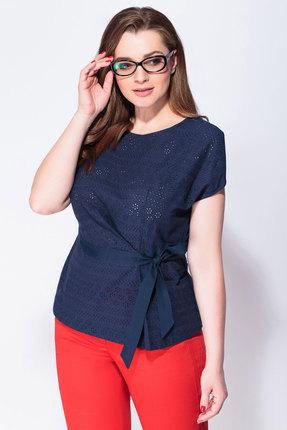 Блузка Anna Majewska 1232-1n темно-синий