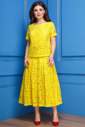 Комплект юбочный Anastasia 271 желтый