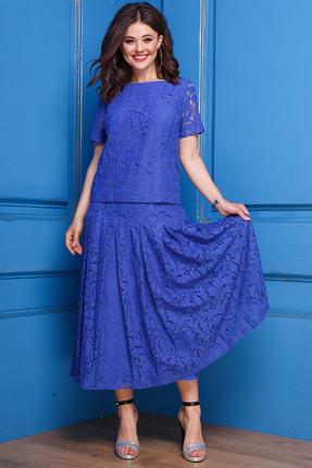 Купить Комплект юбочный Anastasia 271 василек цвет василек