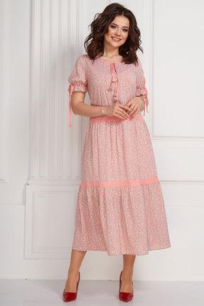 Купить Платье Solomeya Lux 588 розовый розового цвета