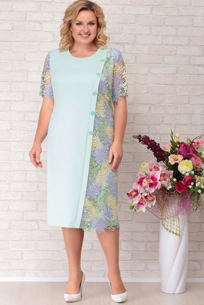Платье Aira Style 690 мята