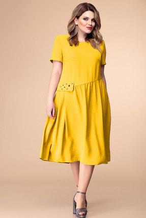 Купить Платье Romanovich style 1-1829 горчица цвет горчица