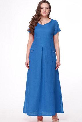 Купить Платье MALI 411 голубой голубого цвета