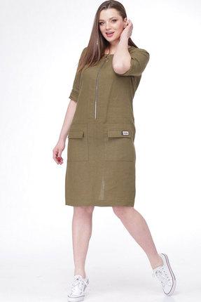 Купить Платье MALI 485 хаки цвета хаки