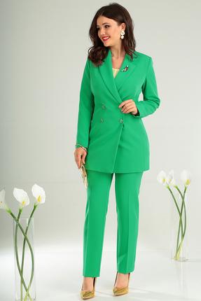 Фото 8 - Комплект брючный Мода-Юрс 2369-2 зеленый зеленого цвета