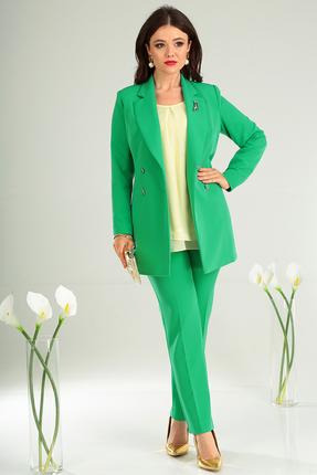 Фото 11 - Комплект брючный Мода-Юрс 2369-2 зеленый зеленого цвета