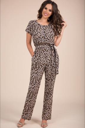 Купить Комбинезон Teffi style 1422 леопард цвет леопард