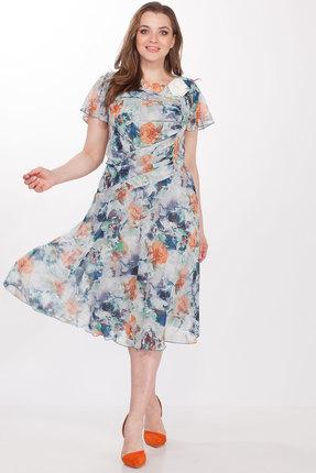 Купить Платье Elletto 1290 мультиколор разноцветного цвета