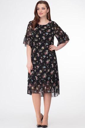 Платье Дали 5408 черный