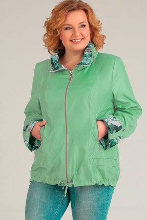 Куртка TricoTex Style 1547 зелено-синие тона