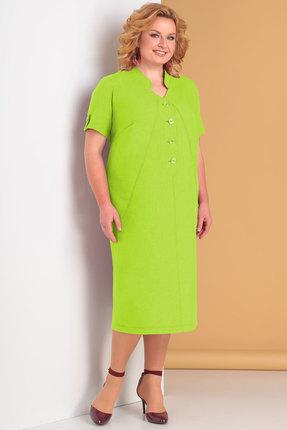 Купить Платье Новелла Шарм 3259-4 салатовый салатового цвета