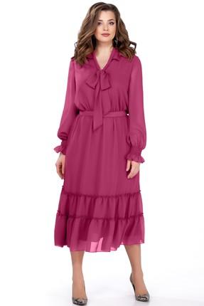 Купить Платье TEZA 157 малиновый малинового цвета