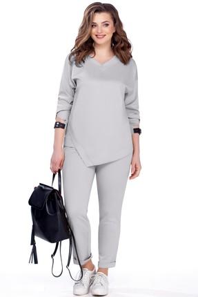 Купить Комплект брючный TEZA 158 серый серого цвета