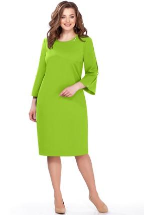 Купить Платье TEZA 161 салатовый салатового цвета