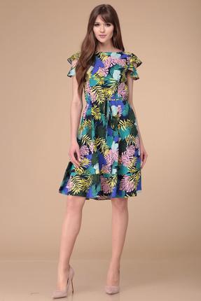 Купить Платье Verita Moda 2002 мультиколор разноцветного цвета