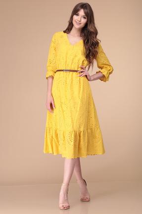 Купить Платье Verita Moda 2000 желтый желтого цвета