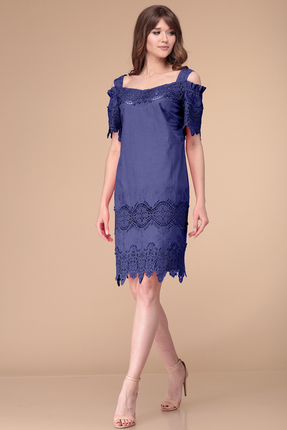 Купить Платье Verita Moda 2003 синий синего цвета