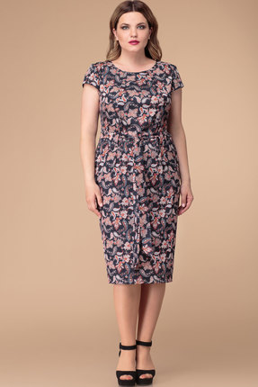 Купить Платье Svetlana Style 1207 узор на черном фоне цвет узор на черном фоне