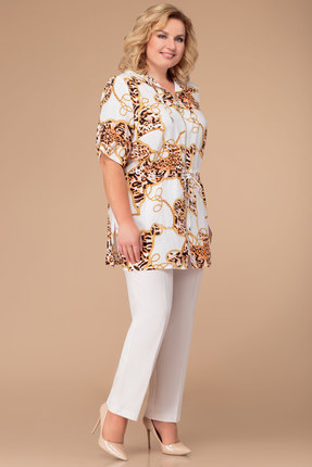 Комплект брючный Svetlana Style 1254 белый