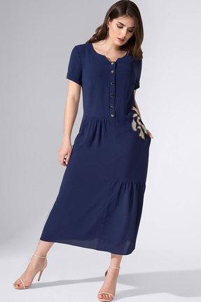 женское повседневные платье avanti erika, синее