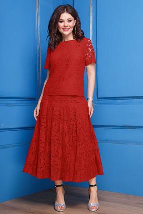Комплект юбочный Anastasia 271 красный