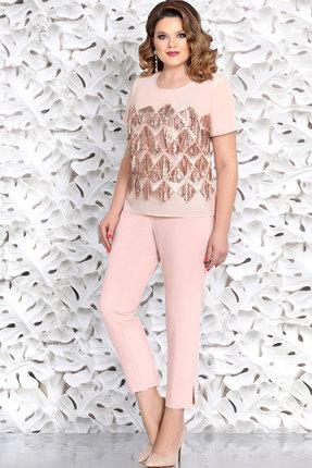 Комплект брючный Mira Fashion 4657-3 розовые тона