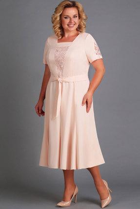 Платье Асолия 2430 пудра