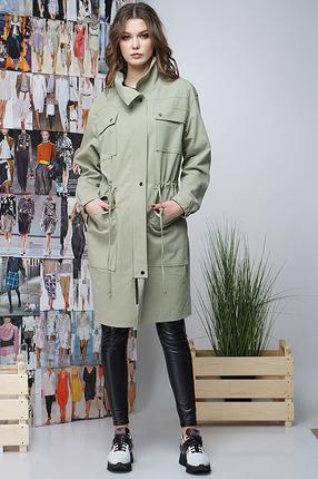 Куртка Фантазия Мод 3367 зеленые тона
