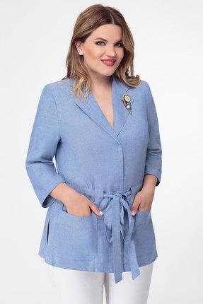 Жакет Дали 5417 голубой