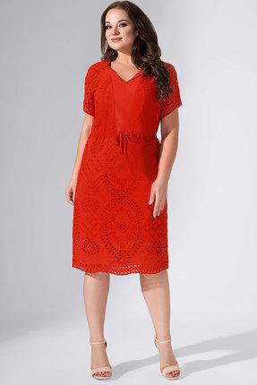 женское повседневные платье avanti erika, красное