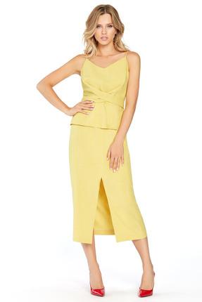 Комплект юбочный PIRS 746 желтый