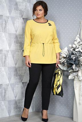Комплект брючный Alani 972 желтый с черным