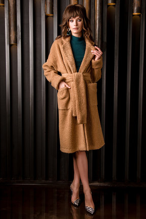Пальто Vesnaletto 2141-1 бежевый