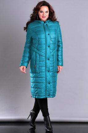 Пальто Jurimex 2032-2 бирюза
