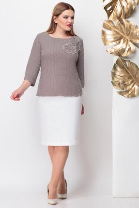 Комплект юбочный Michel Chic 1120 коричневый