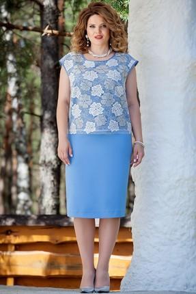 Комплект юбочный TEZA 225 голубой