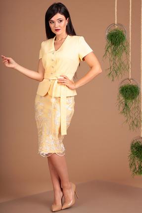 Комплект юбочный Мода-Юрс 2469 персиковый