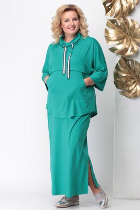 Купить со скидкой Комплект юбочный Michel Chic 1103 зеленые тона