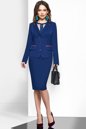 Комплект юбочный Lissana 3623 синий