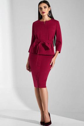 Комплект юбочный Lissana 3624 марсала