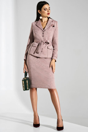 Комплект юбочный Lissana 3782 меланж розовый