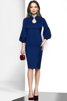 Комплект юбочный Lissana 3603 синий