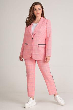 Комплект брючный Anastasia Mak 635 розовые тона